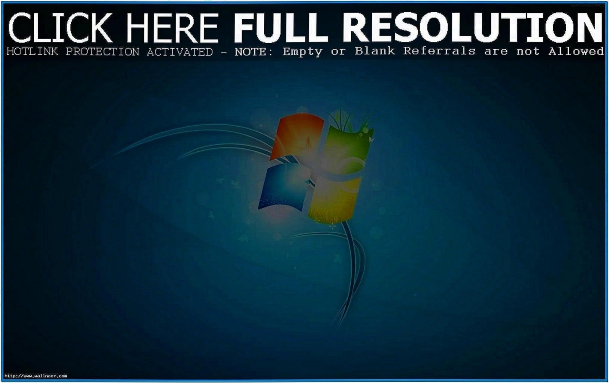 Full hd screensaver Windows 7