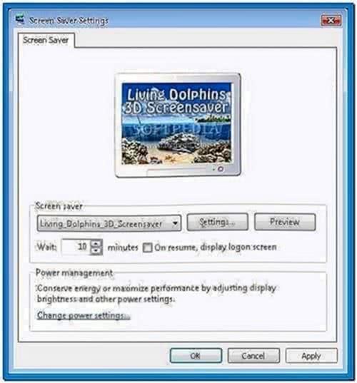 Full living dolphins 3D screensaver