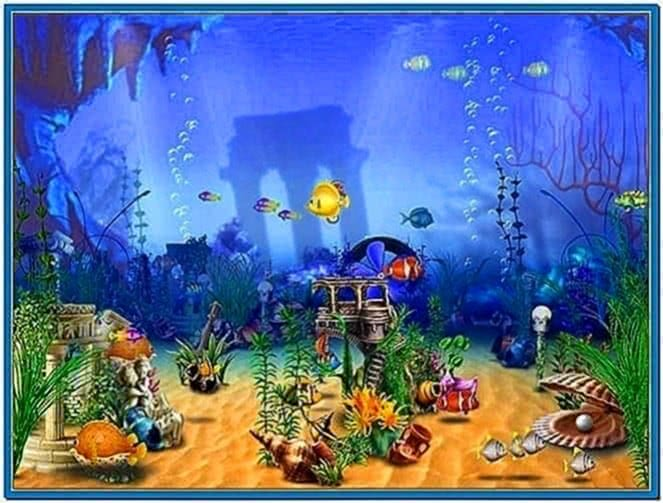 Fun Aquarium 3D Screensaver