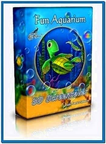 Fun aquarium 3D screensaver 1.0.1