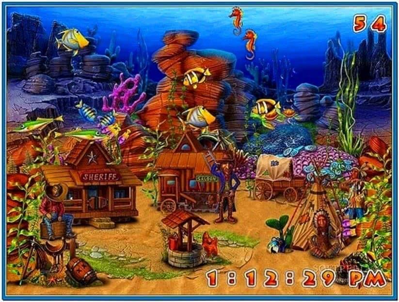Fun Aquarium 3D Screensaver Full