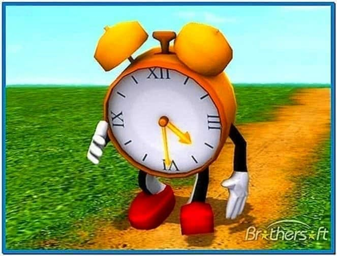 Funny Clock 3D Screensaver 1.0