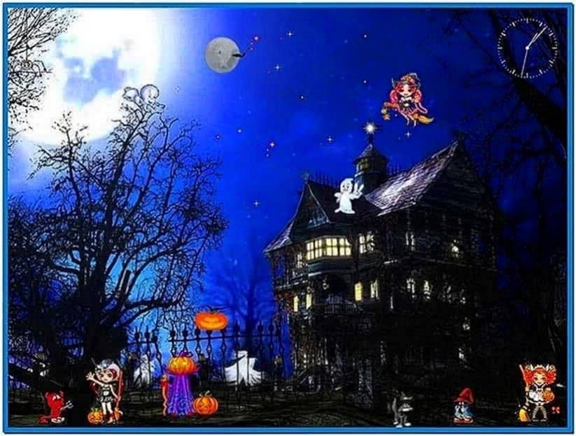 Free Funny Screensavers 2: Funny Halloween Screensaver