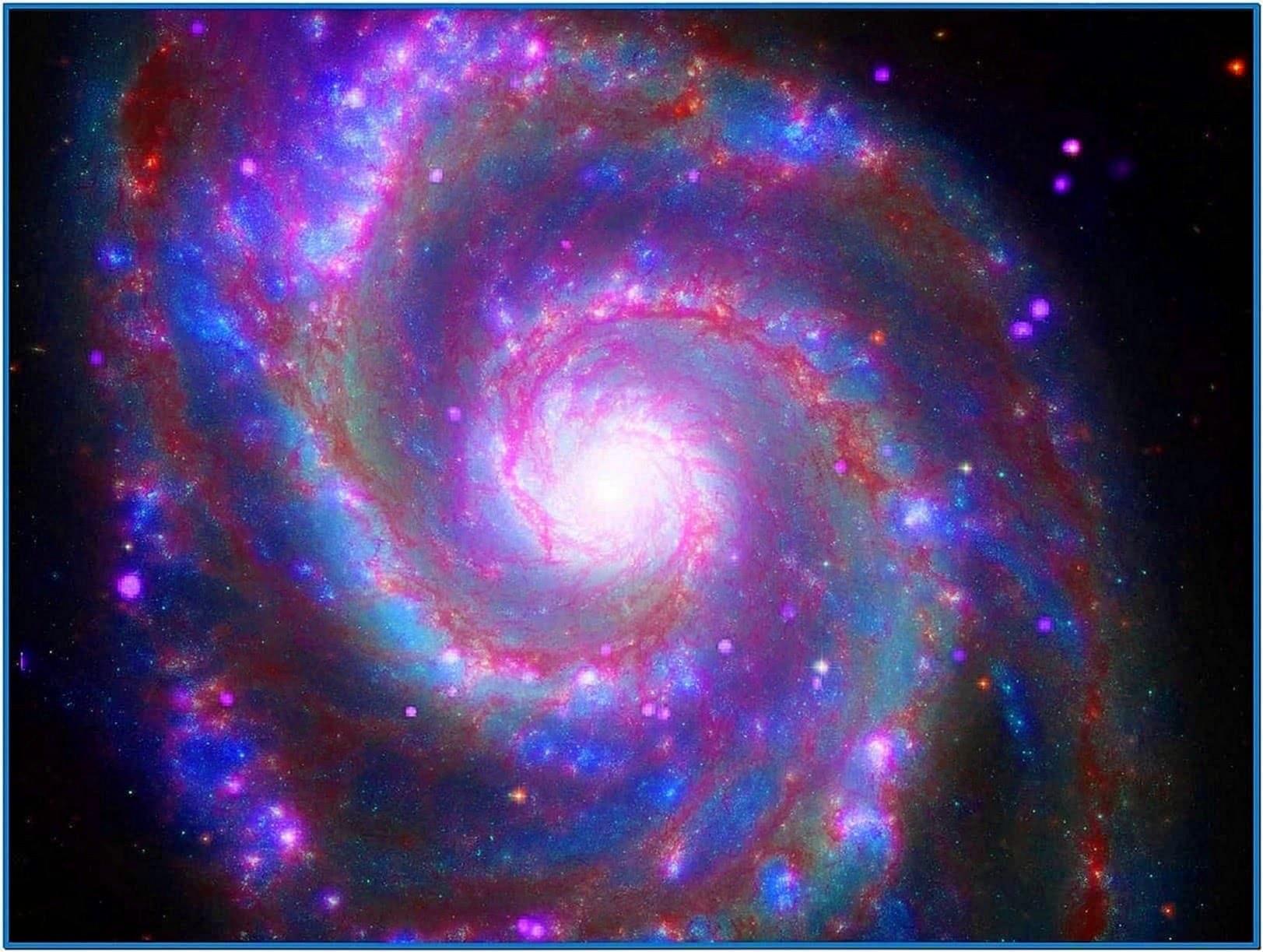 Galaxy Screensaver Moving