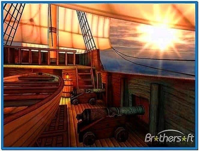 Galleon 3D Screensaver 1.3