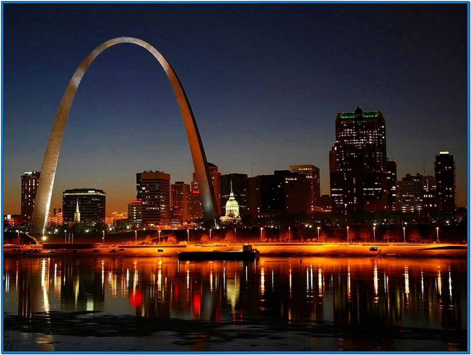 Gateway Arch Screensaver