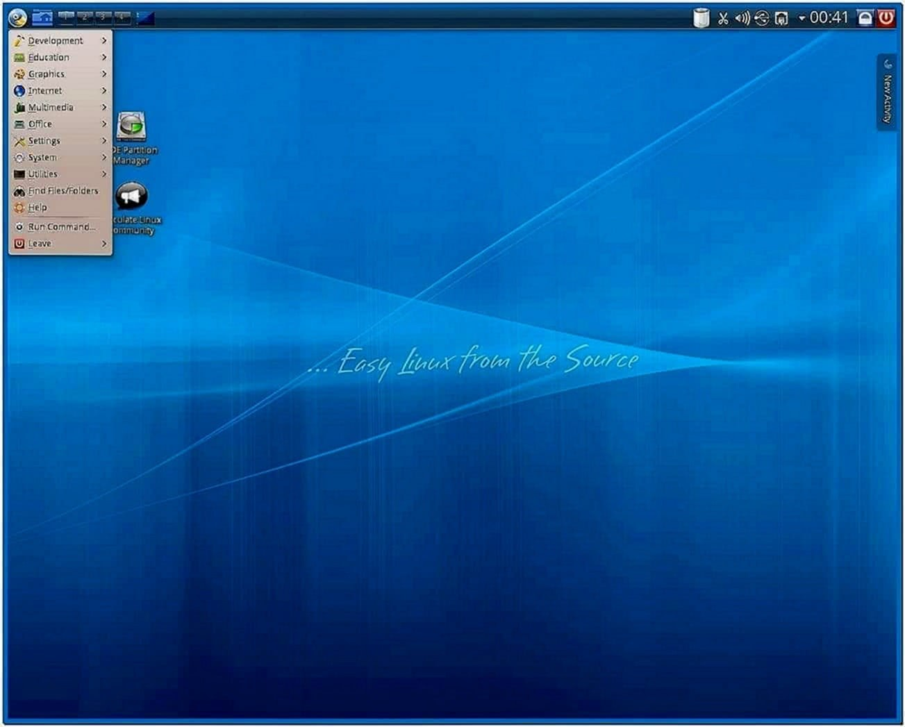 Gentoo XFCE Gnome Screensaver