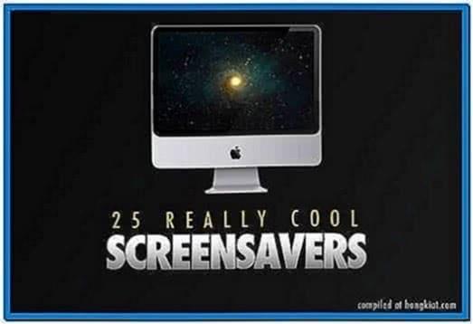 Get new screensavers Windows 7