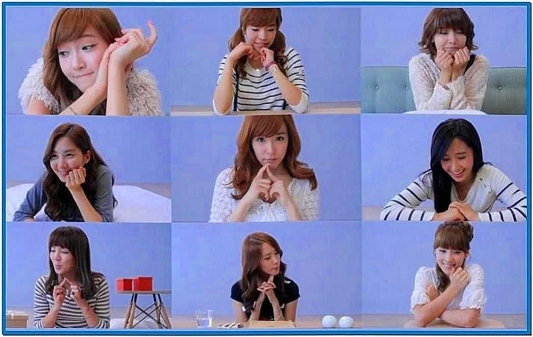 Girls Generation Daum Screensaver Mac