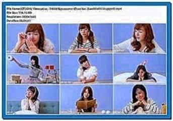 Girls Generation Screensaver