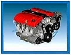 Gm Corvette Engine Assembly Ls2 Screensaver