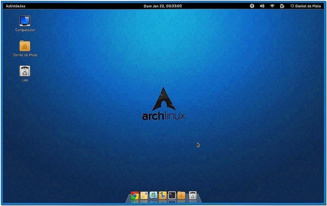 Gnome 3 Screensaver Arch Linux