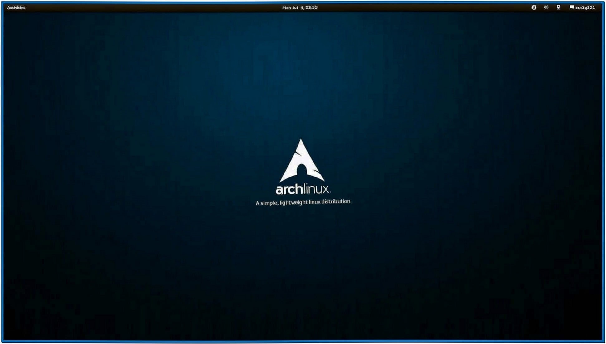 Gnome 3 Screensaver Arch Linux