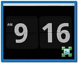 Gnome Screensaver Flip Clock