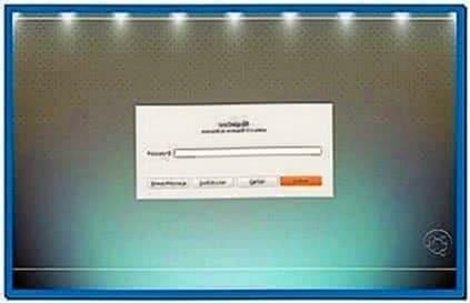 Gnome Screensaver Lock Dialog