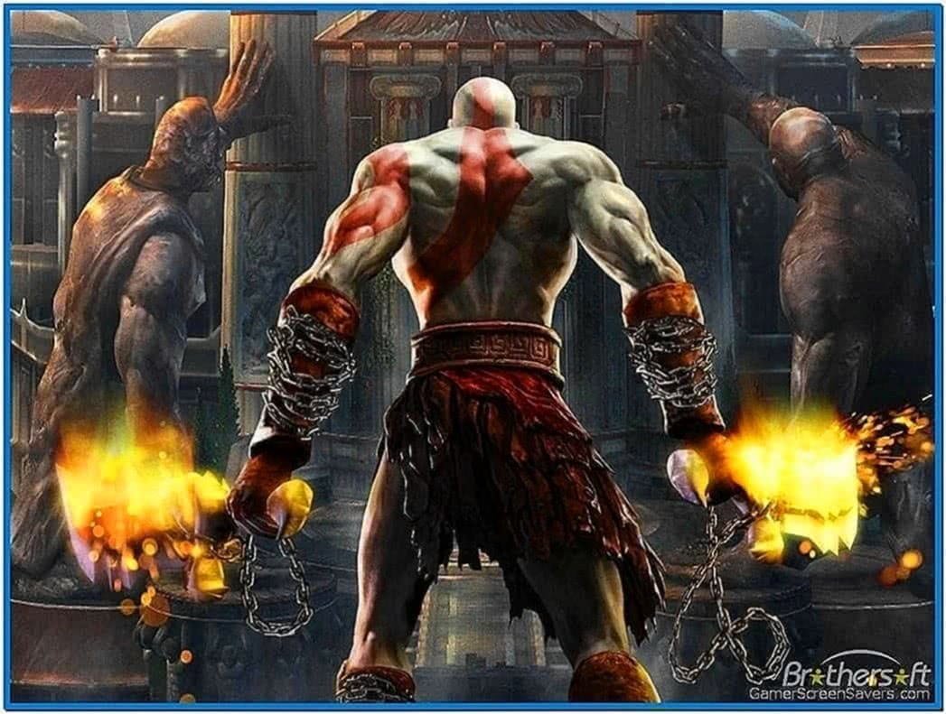 God of war screensaver PC