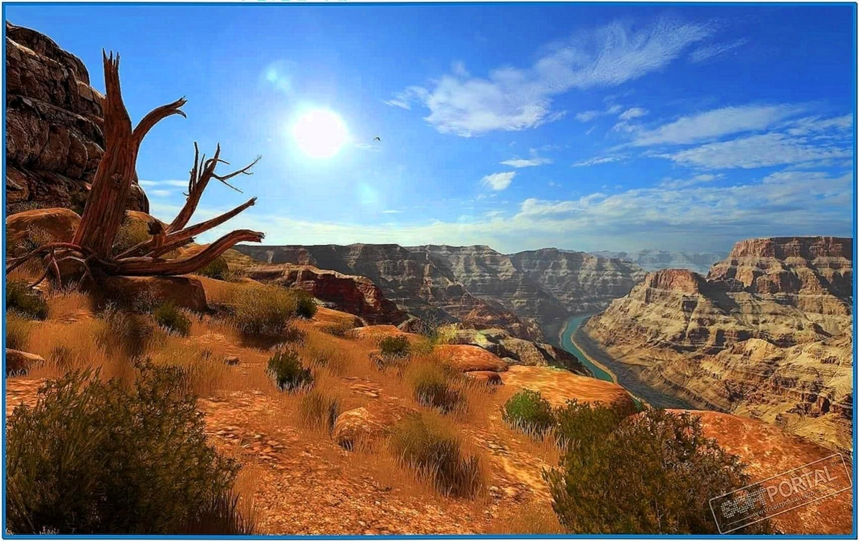 Grand Canyon 3D Screensaver 1.0