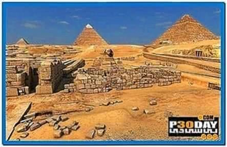 Great Pyramids 3D Screensaver and Animated Wallpaper