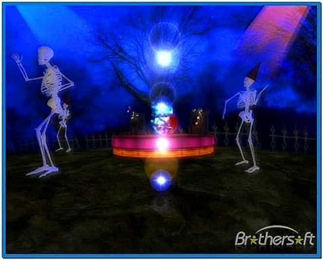 Halloween Dance 3D Screensaver 1.0