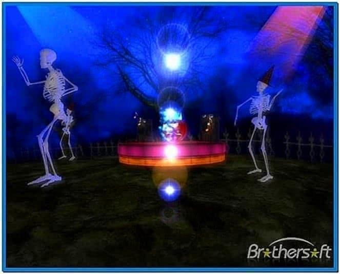 Halloween Dance 3D Screensaver