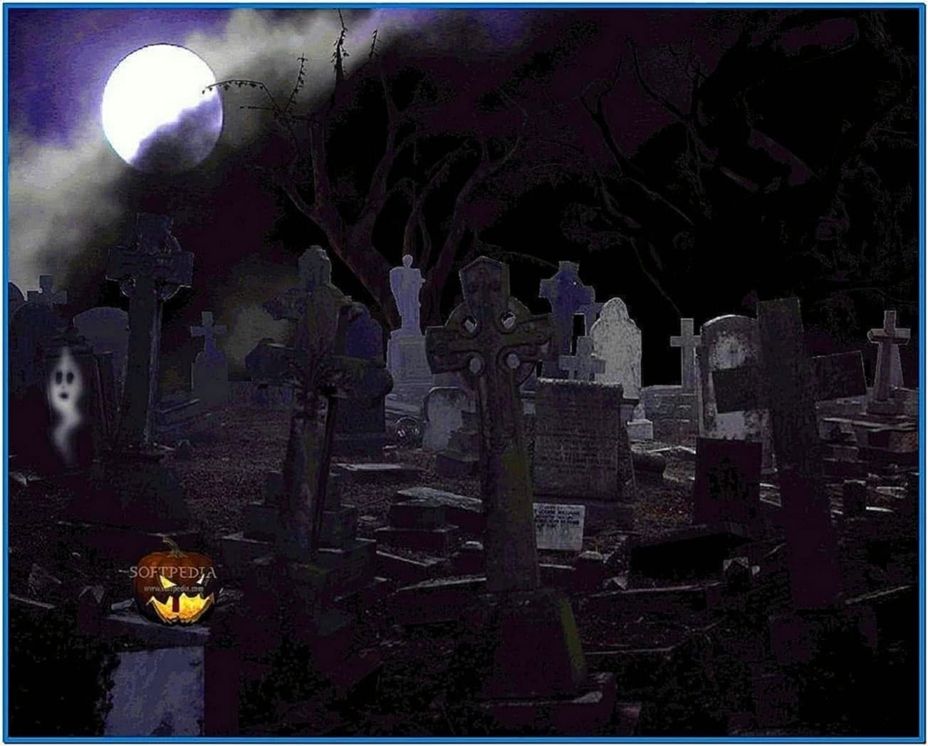 animated halloween free screensavers