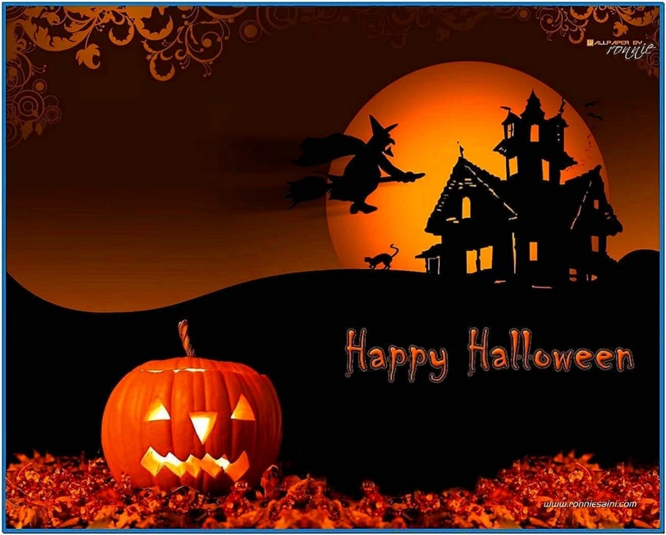 halloween free wallpapers and screensavers