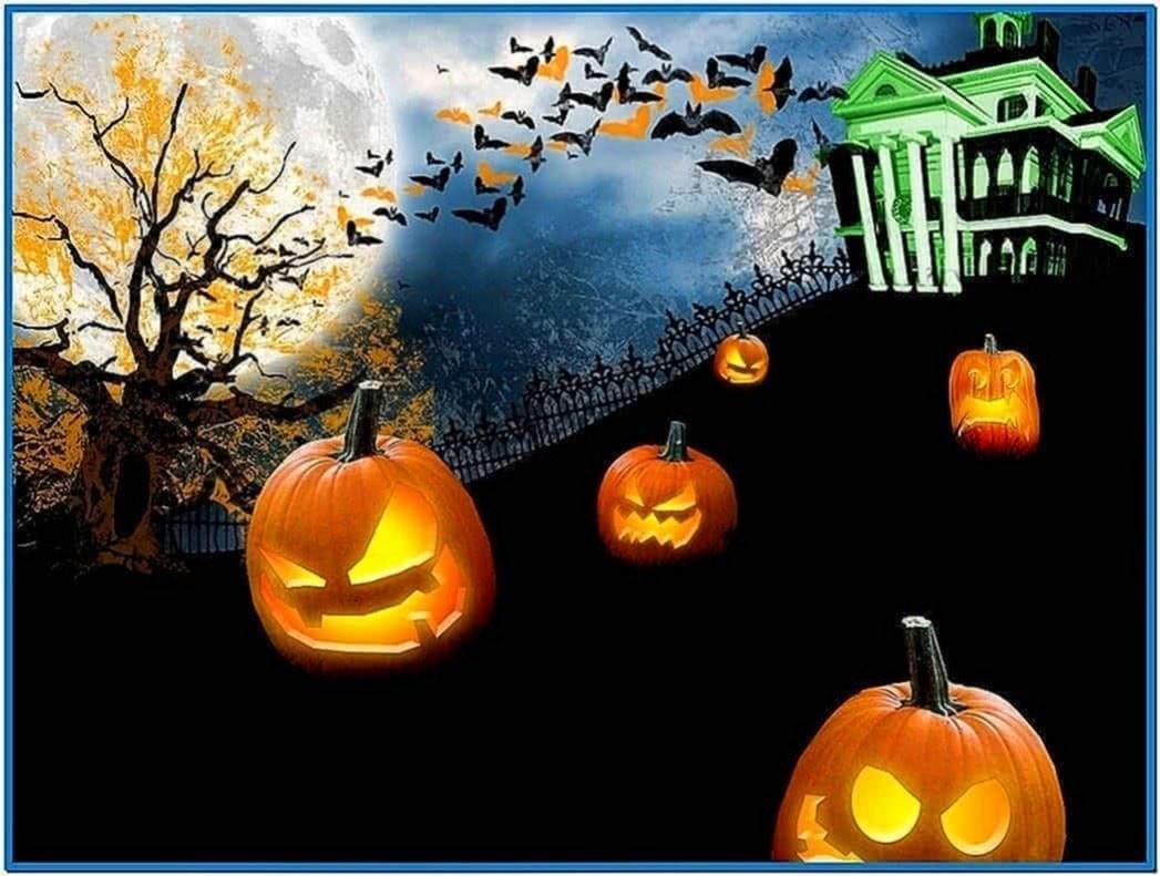 Halloween screensavers and wallpapers