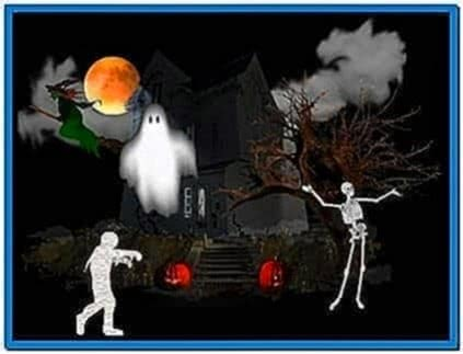 Halloween Screensavers Ghosts Animated