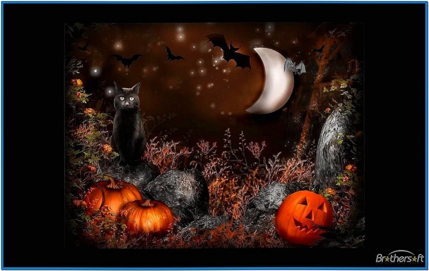 halloween screensavers with sound effects download free