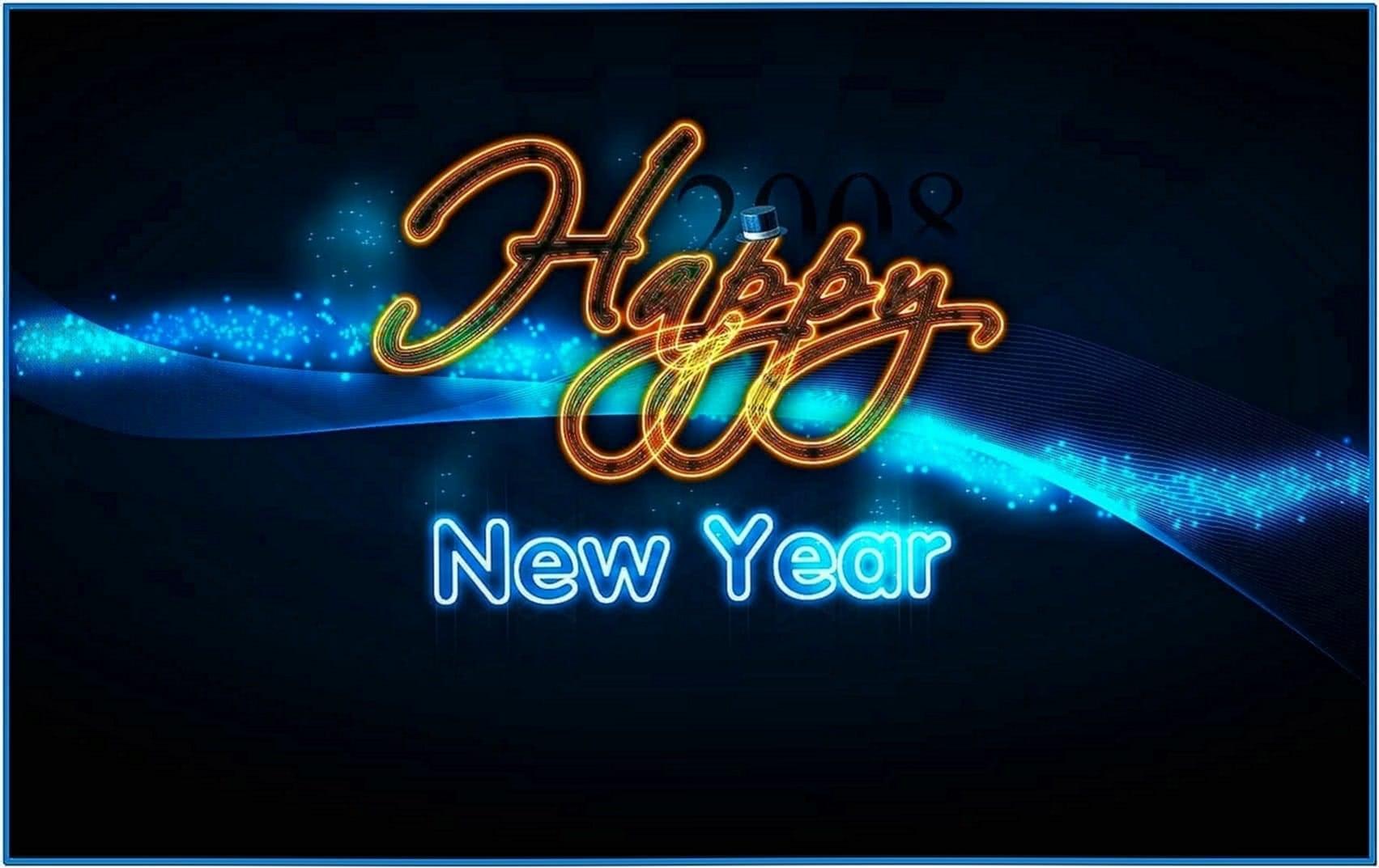 Happy New Year Desktop Screensavers