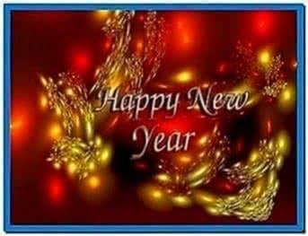 Happy new year screensavers