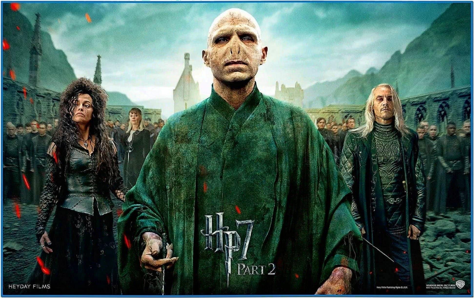 Harry Potter Deathly Hallows Screensaver Mac