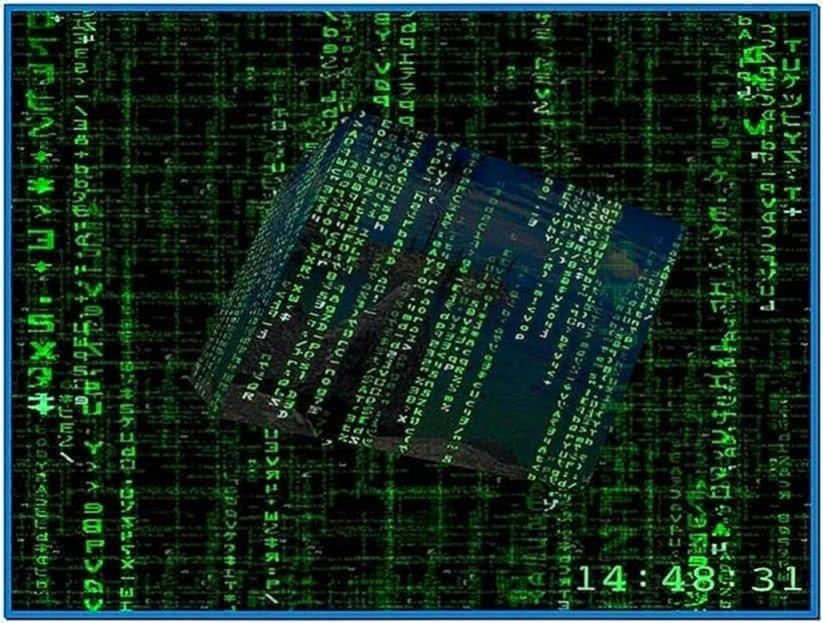 HD 3D Matrix Screensaver