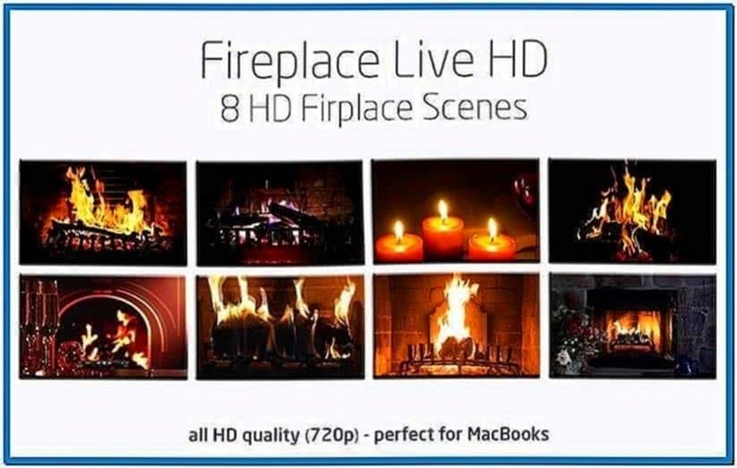 HD Fire Screensaver Mac