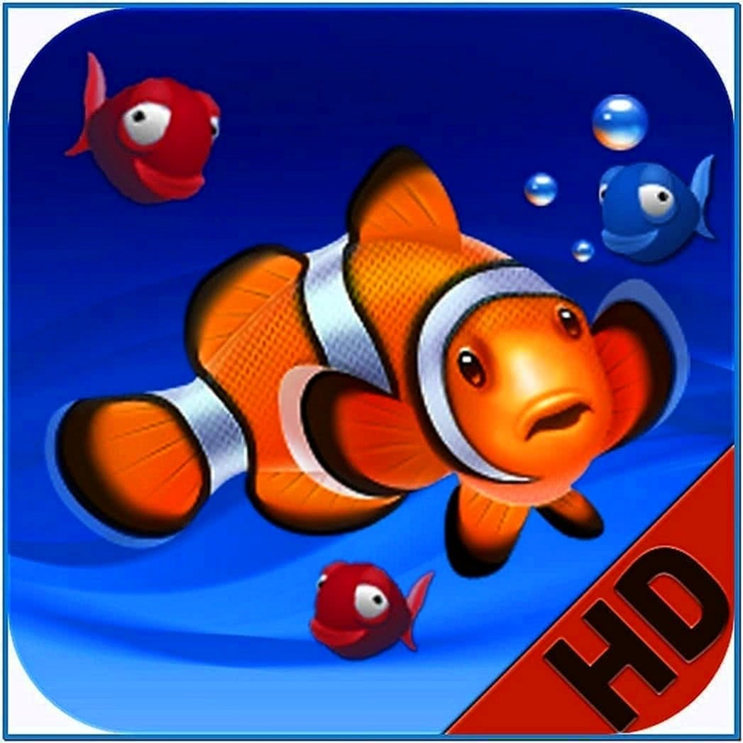 HD Fish Tank Screensaver Mac