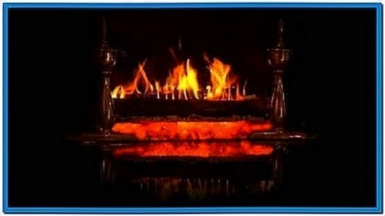 HD Log Fire Screensaver
