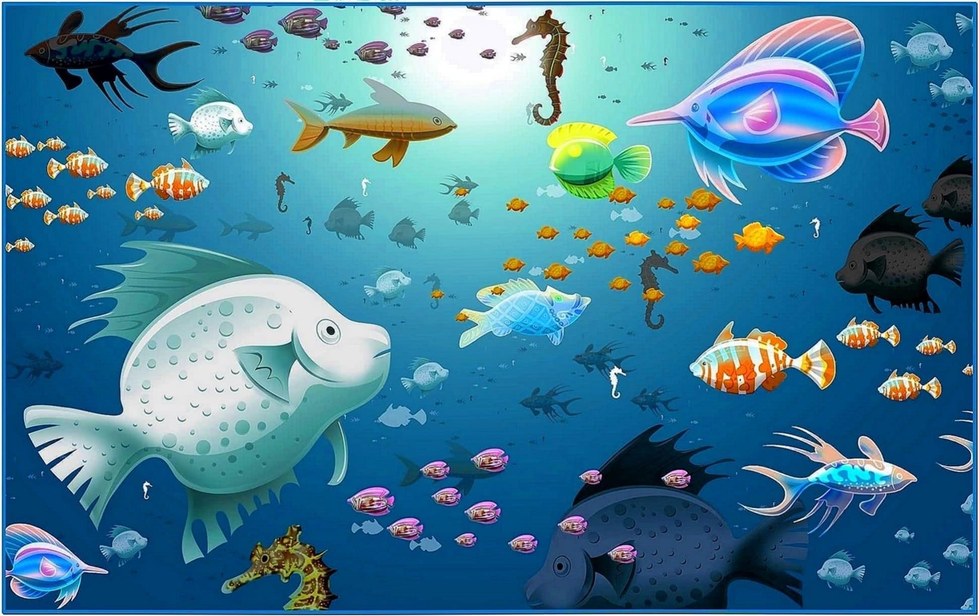 HD Screensavers Fish Tank