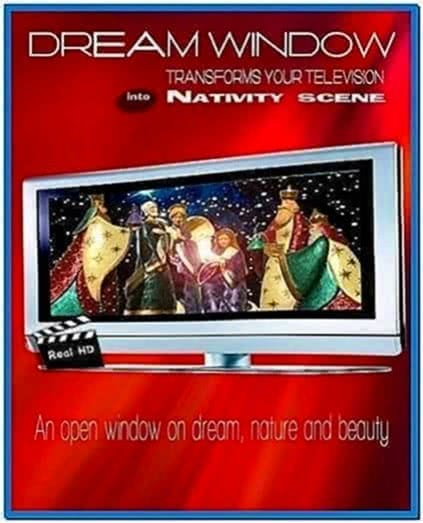 HD TV Screensaver Dvd