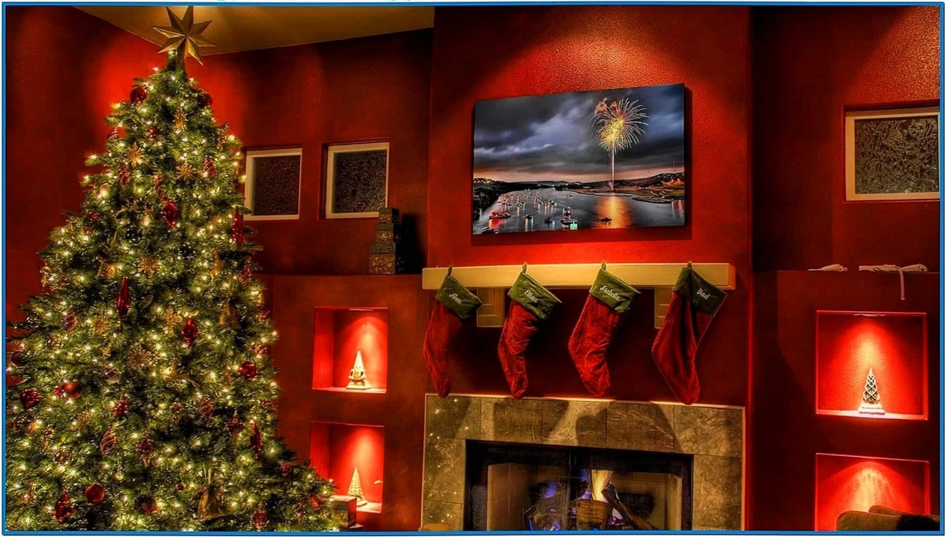 Hdtv Screensavers Fireplace Download Free