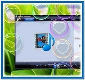 Heart Bubbles Screensaver Windows 7