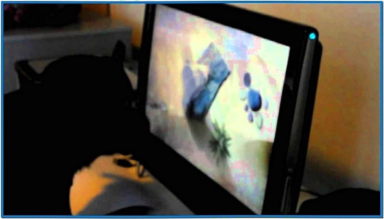 HP Touchsmart Fish Screensaver