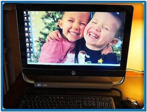 Hp touchsmart screensavers