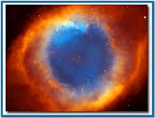 Hubble space telescope screensaver Mac