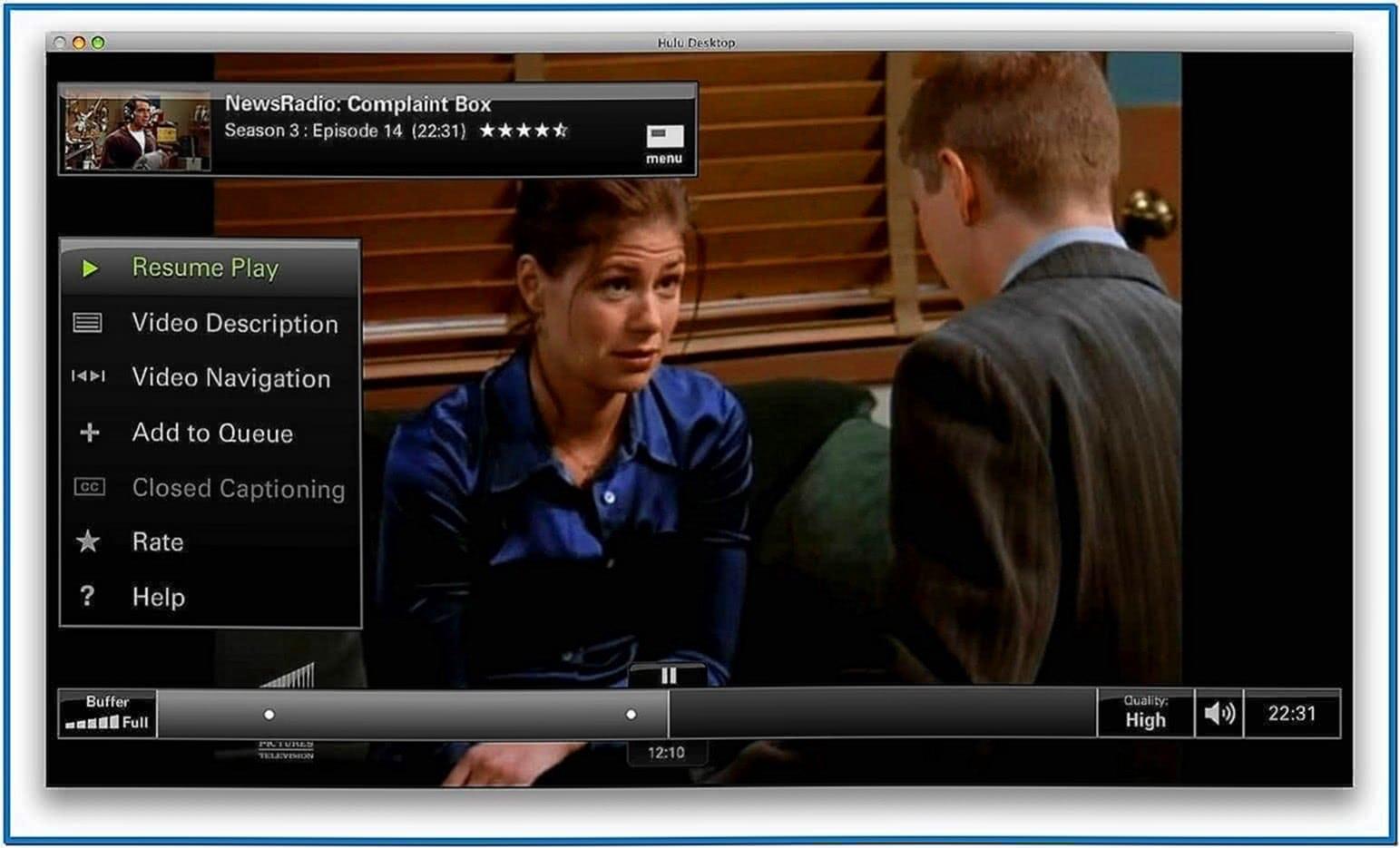 Hulu Desktop Screensaver Mac