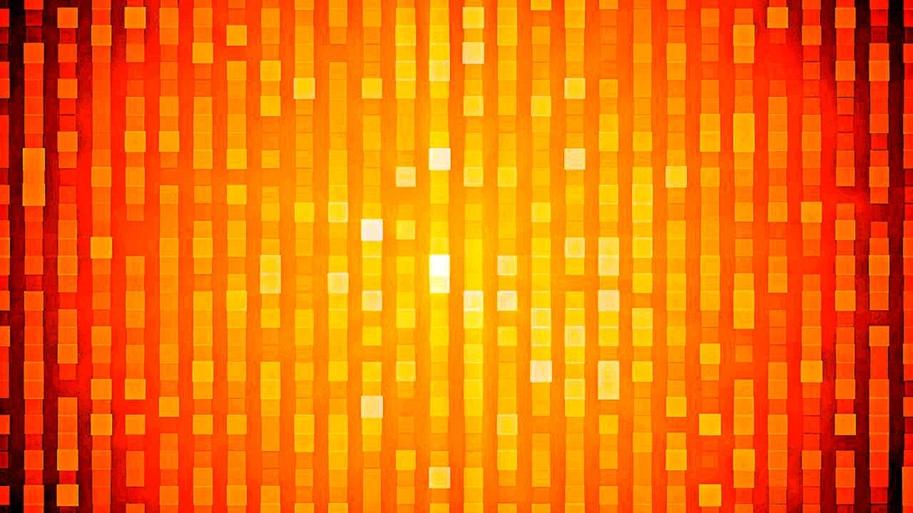 Orange Squares Zooming In and Out 4K Relaxing Screensaver