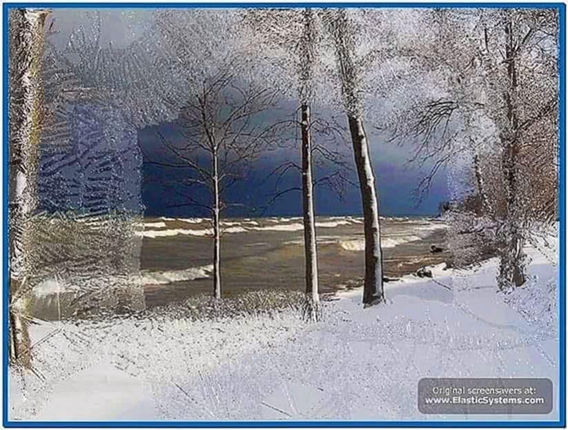 Icy Christmas Screensaver