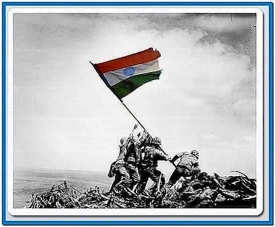 Indian Flag 3d Screensaver Download For Free