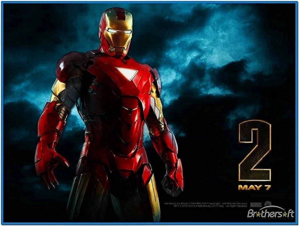 Iron man 2 animated screensaver