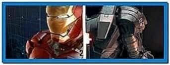 Iron Man 2 Animated Screensaver