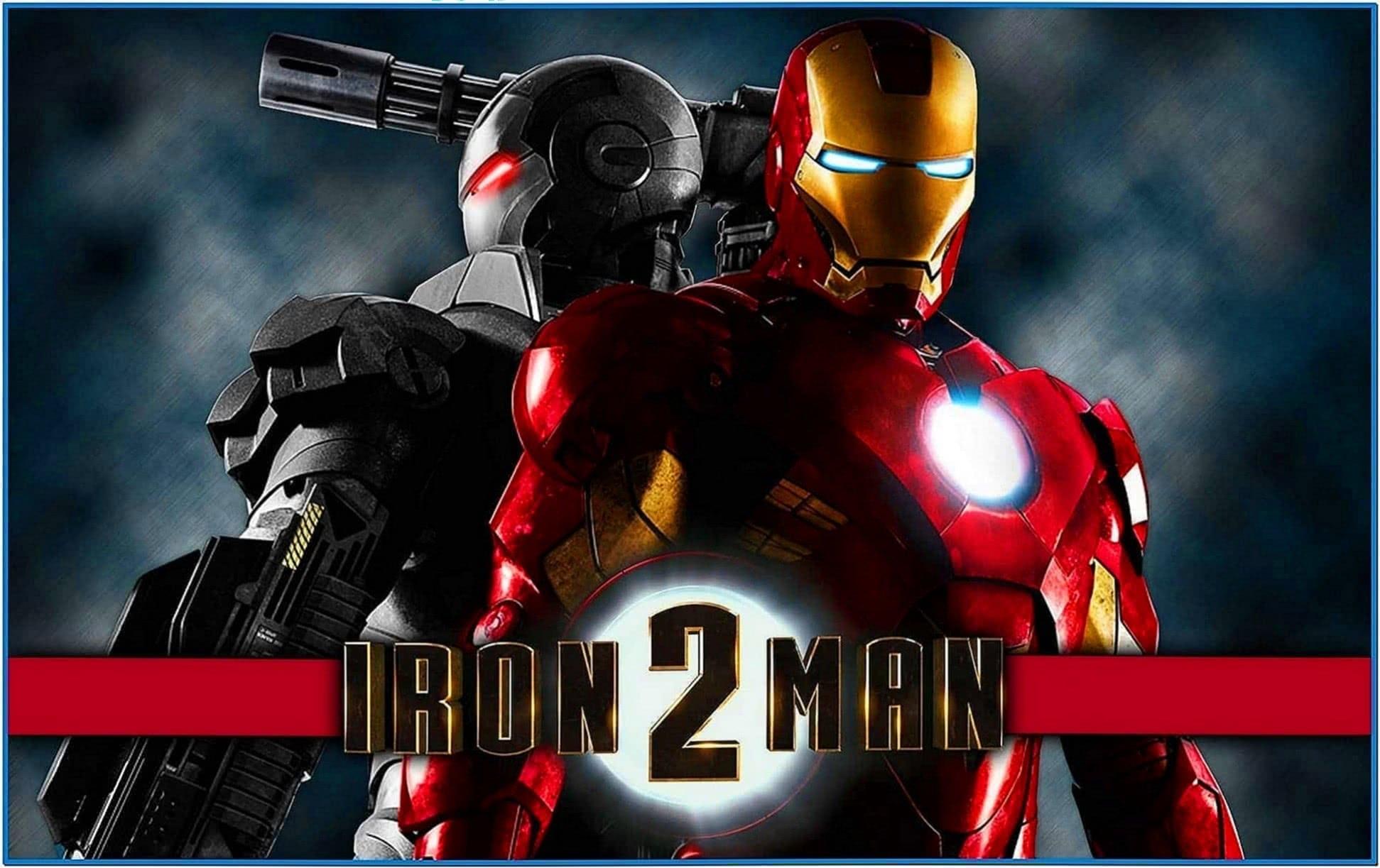 Iron Man 2 Screensaver 3D